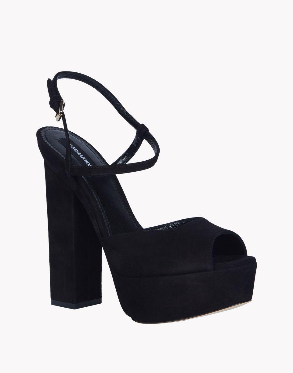 platform ziggy sandals shoes Woman Dsquared2