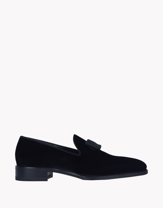 ubaldo velvet loafers shoes Man Dsquared2