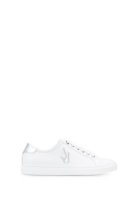 Armani Sneakers Women solid colour sneakers with logo