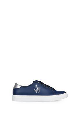 Armani Scarpe Donna sneakers basse con logo