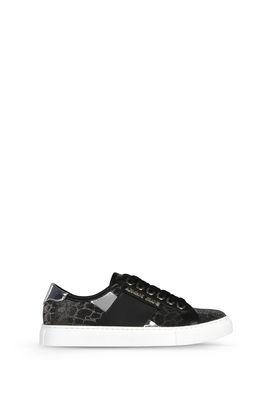 Armani Scarpe Donna sneakers basse con glitter