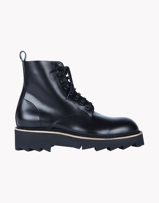 brick lace-up boots shoes Man Dsquared2