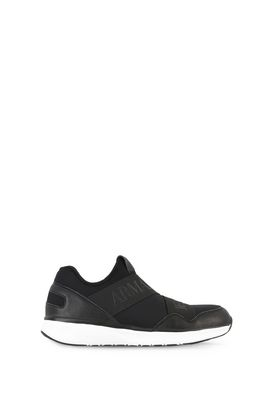 Armani Shoes Men mid-top sneakers with elastic straps