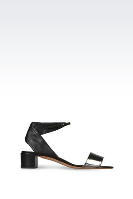Armani Sandals Women heeled sandal