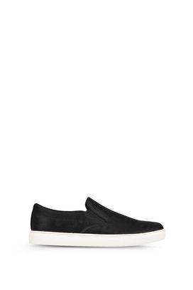 Armani Slip-on Shoes Uomo slip on in tessuto tecnico logo all over