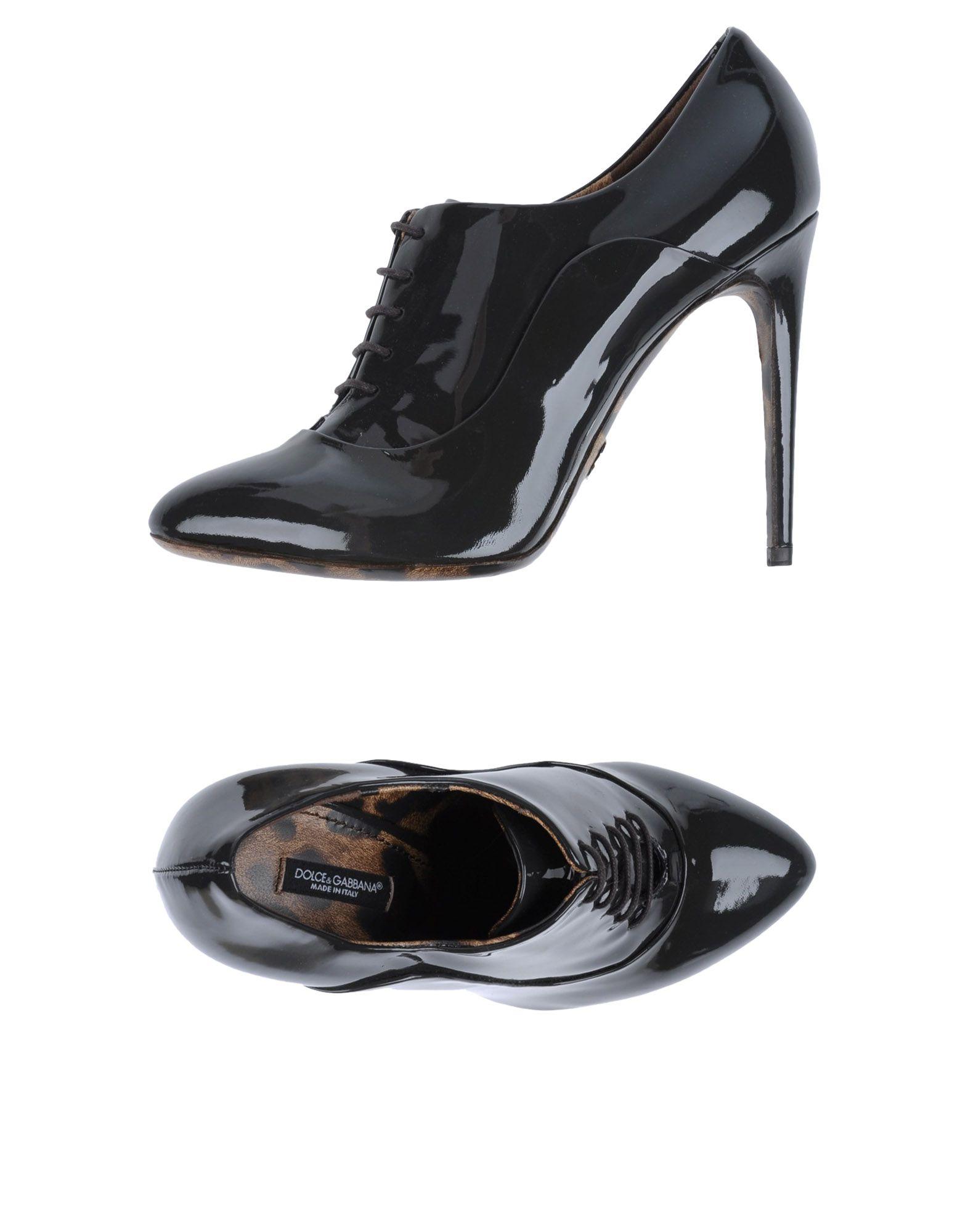 dolce gabbana female dolce gabbana laceup shoes