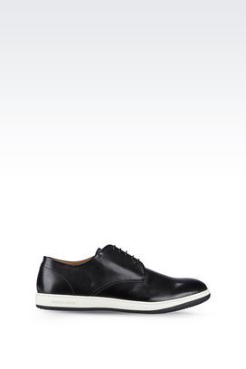 Armani Lace-up shoes Men leather lace-ups