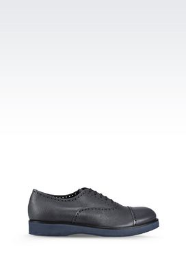Armani Lace-up shoes Men leather brogues