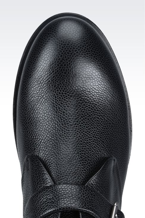 Giorgio Armani Men Shoe boots Calf-skin leather - Armani.com