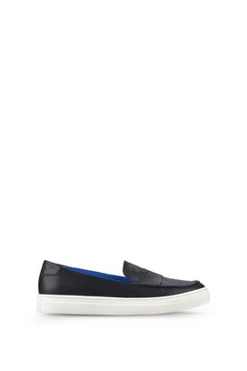 Armani Loafers Men leather slip-on loafers