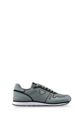 Armani Shoes Men technical fabric low-top sneakers
