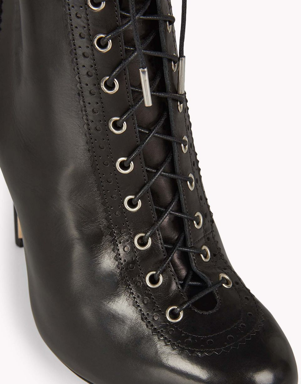 lace-up brogue ankle boots shoes Woman Dsquared2