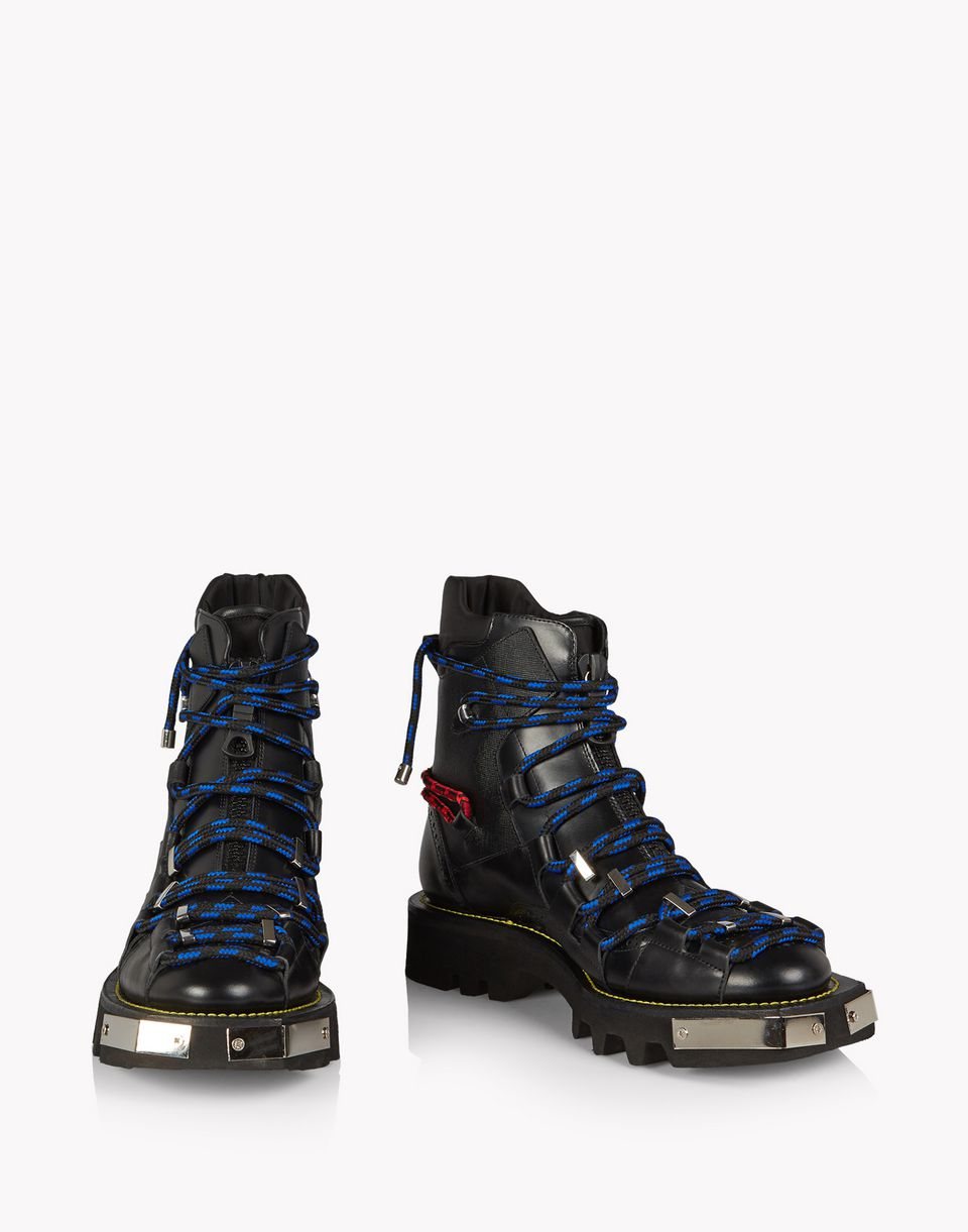 techno cord combat boots shoes Man Dsquared2