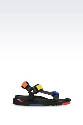 Armani Sandales Homme chaussures