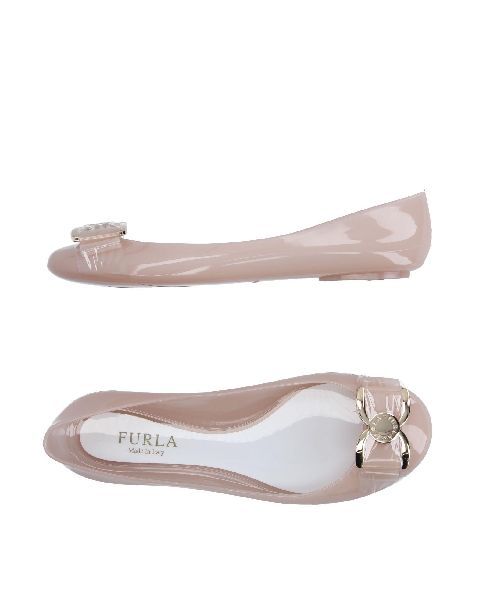 furla female furla ballet flats