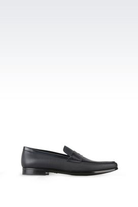 Armani Moccasins Men leather loafers