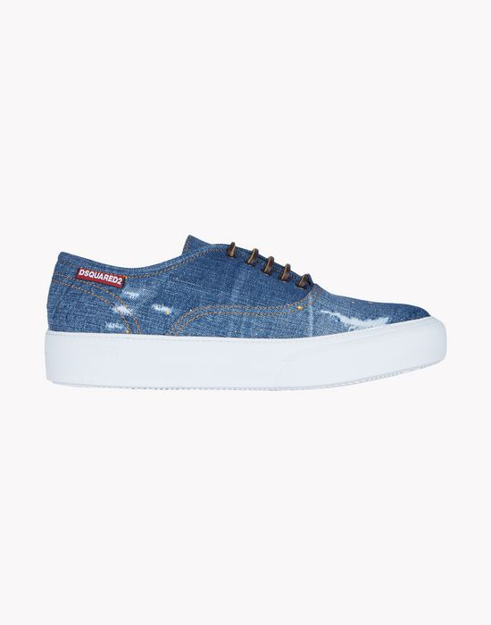 tender sneakers shoes Man Dsquared2