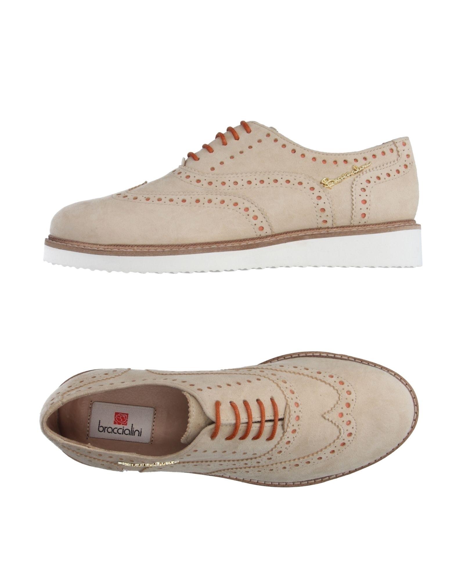braccialini female braccialini laceup shoes