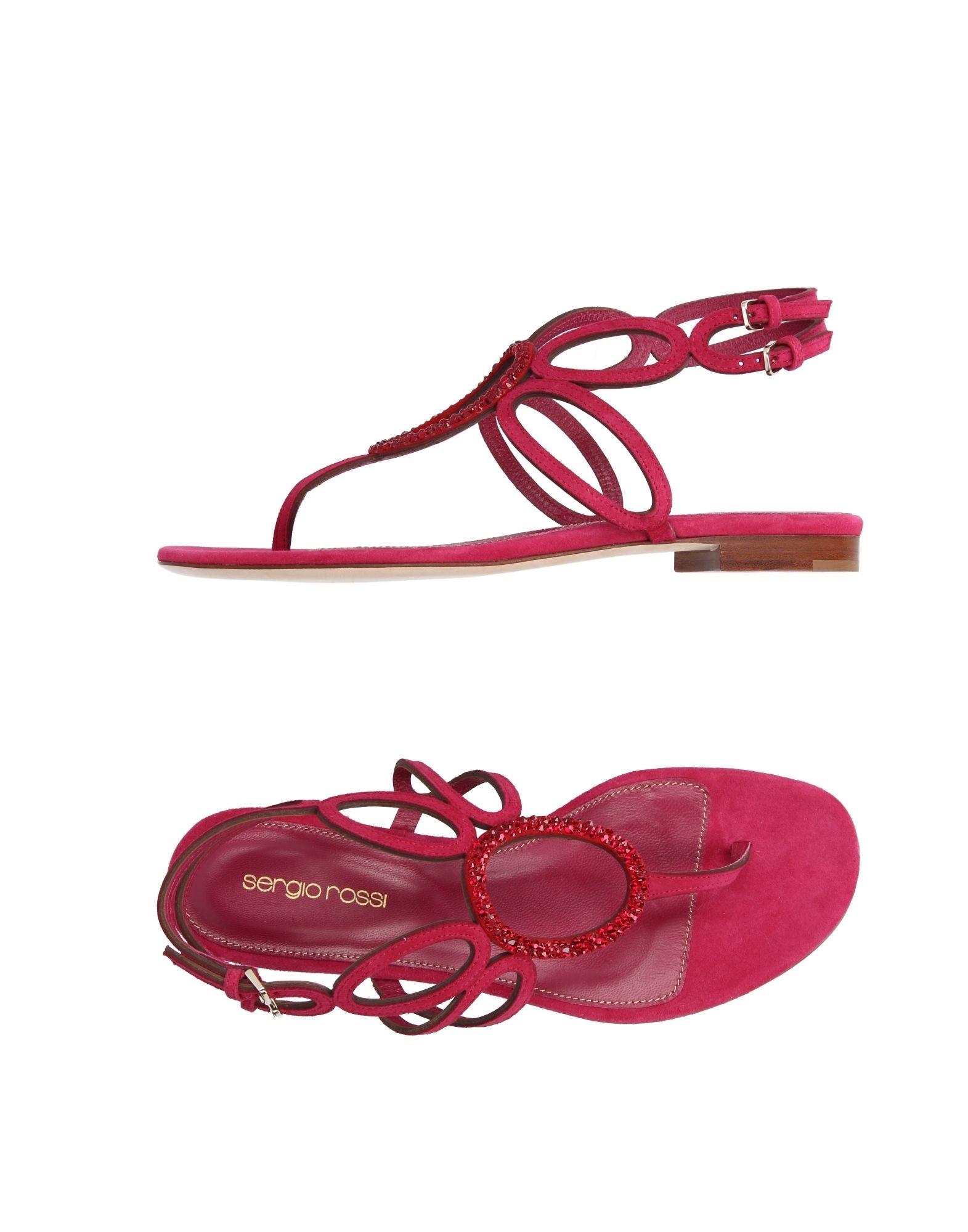 sergio rossi female sergio rossi toe strap sandals