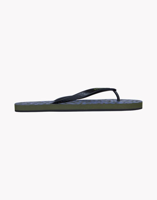 camouflage flip flops shoes Man Dsquared2