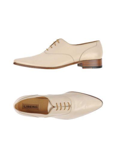 Обувь на шнурках LIBERO. Цвет: слоновая кость