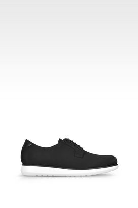 Armani Lace-up shoes Men leather and fabric lace-ups