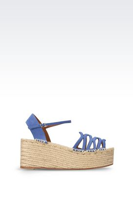 Armani Wedges Women espadrille wedge