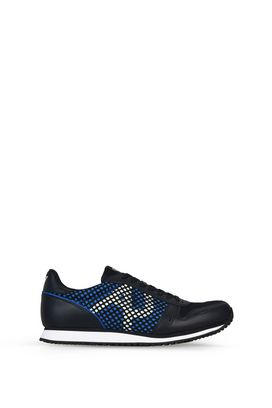 Armani Shoes Men technical mesh low-top sneakers