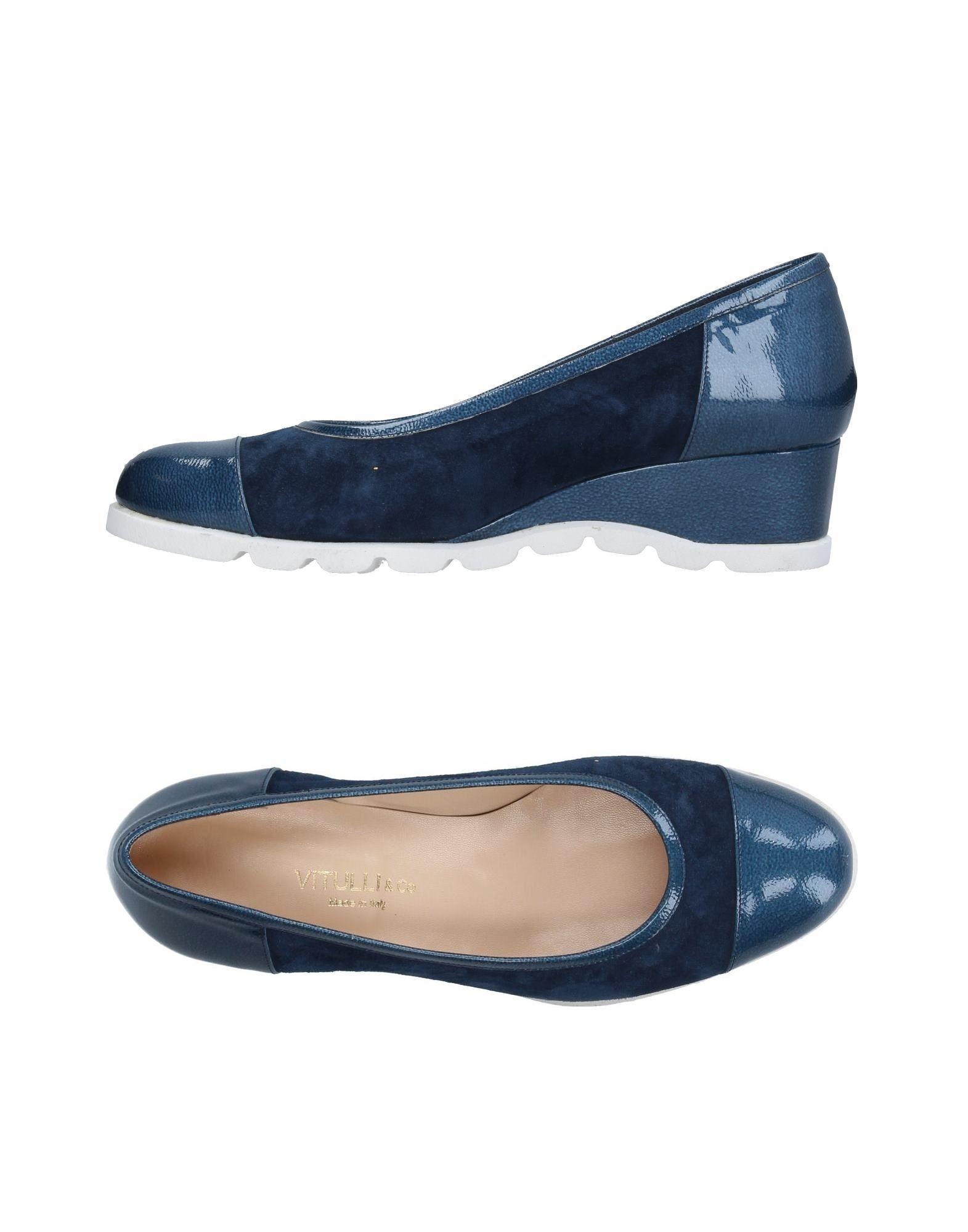 Escarpins vitulli & co. femme. bleu. 36.5 - 37...
