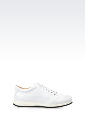 Armani Sneakers Men leather sneakers
