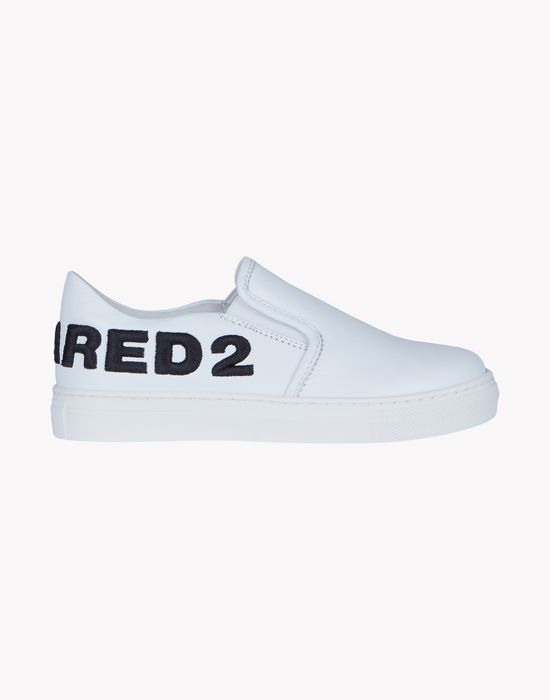 d2 slip on sneakers shoes Man Dsquared2