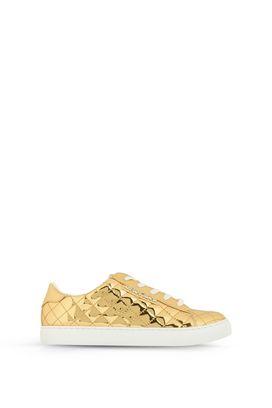 Armani Scarpe Donna sneakers basse in matelassé specchiato
