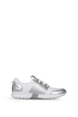 Armani Scarpe Donna sneakers runner basse similpelle