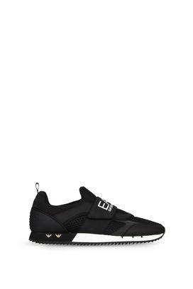 Armani Footwear Men running inspired slip-on shoe
