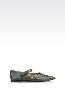 Armani Ballerines Femme chaussures