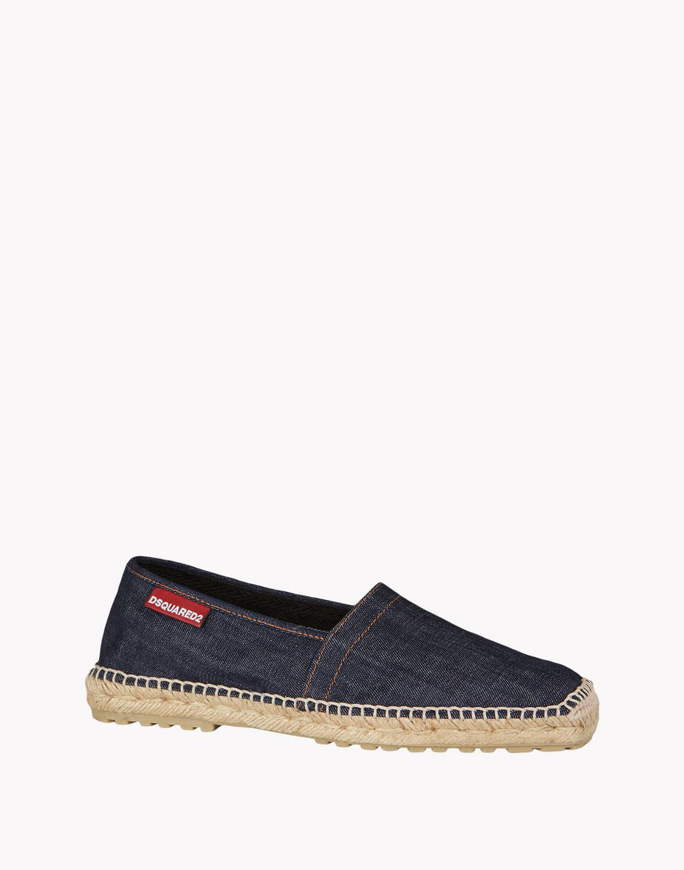 denim espadrille shoes Man Dsquared2