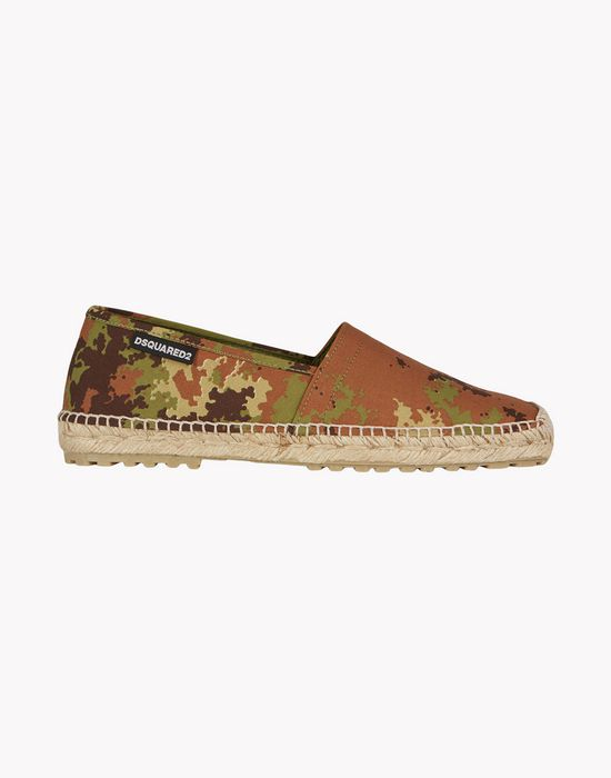 camouflage espadrille shoes Man Dsquared2