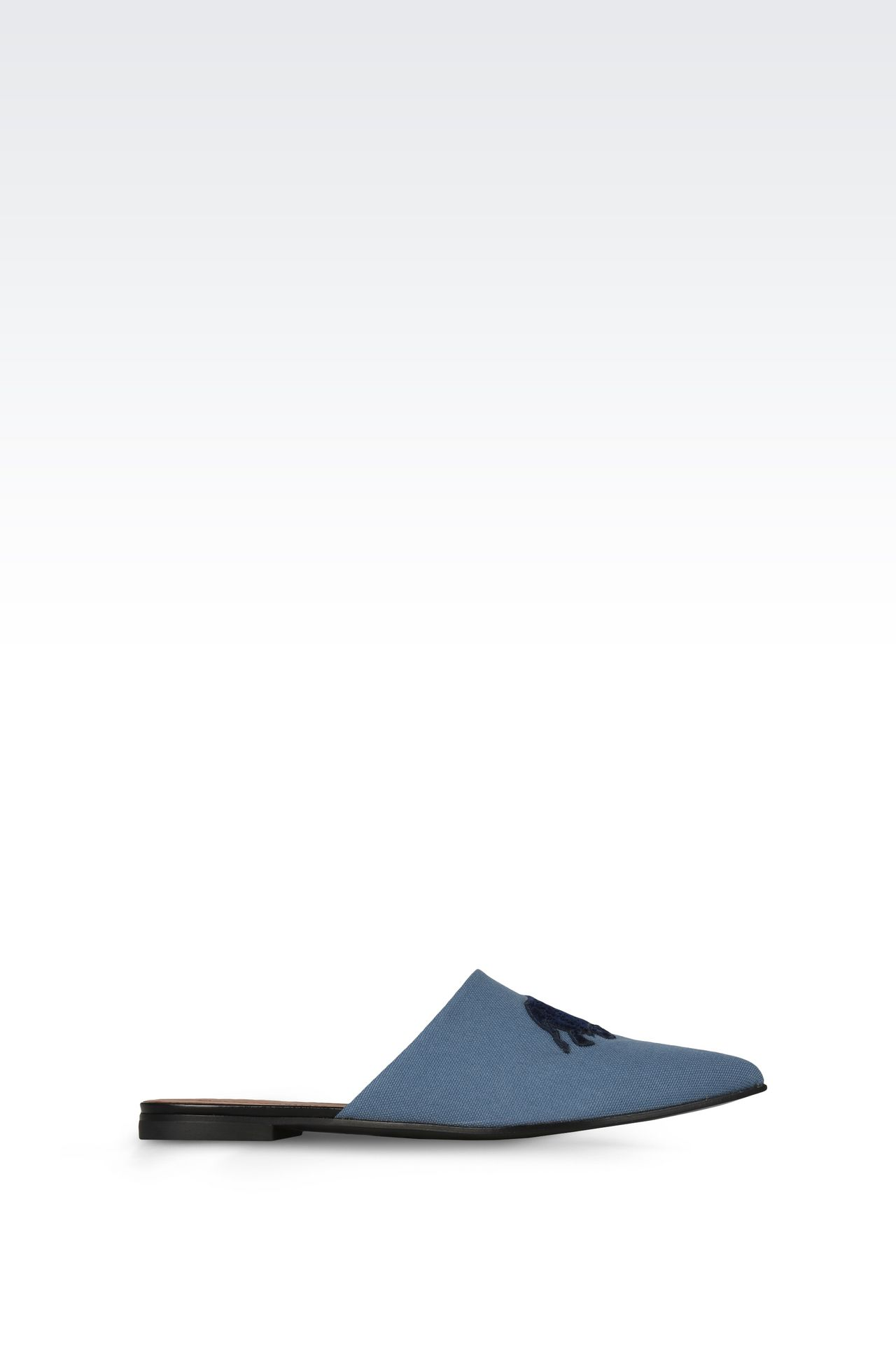 Shoes: Ballet flats Women by Armani - 0