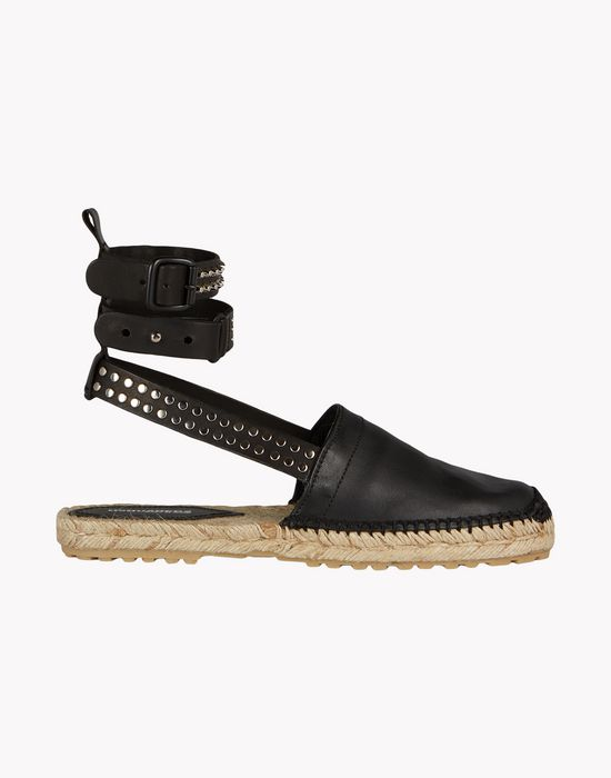 stud espadrille shoes Woman Dsquared2