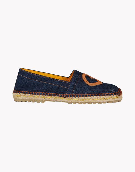 dd denim espadrille shoes Woman Dsquared2
