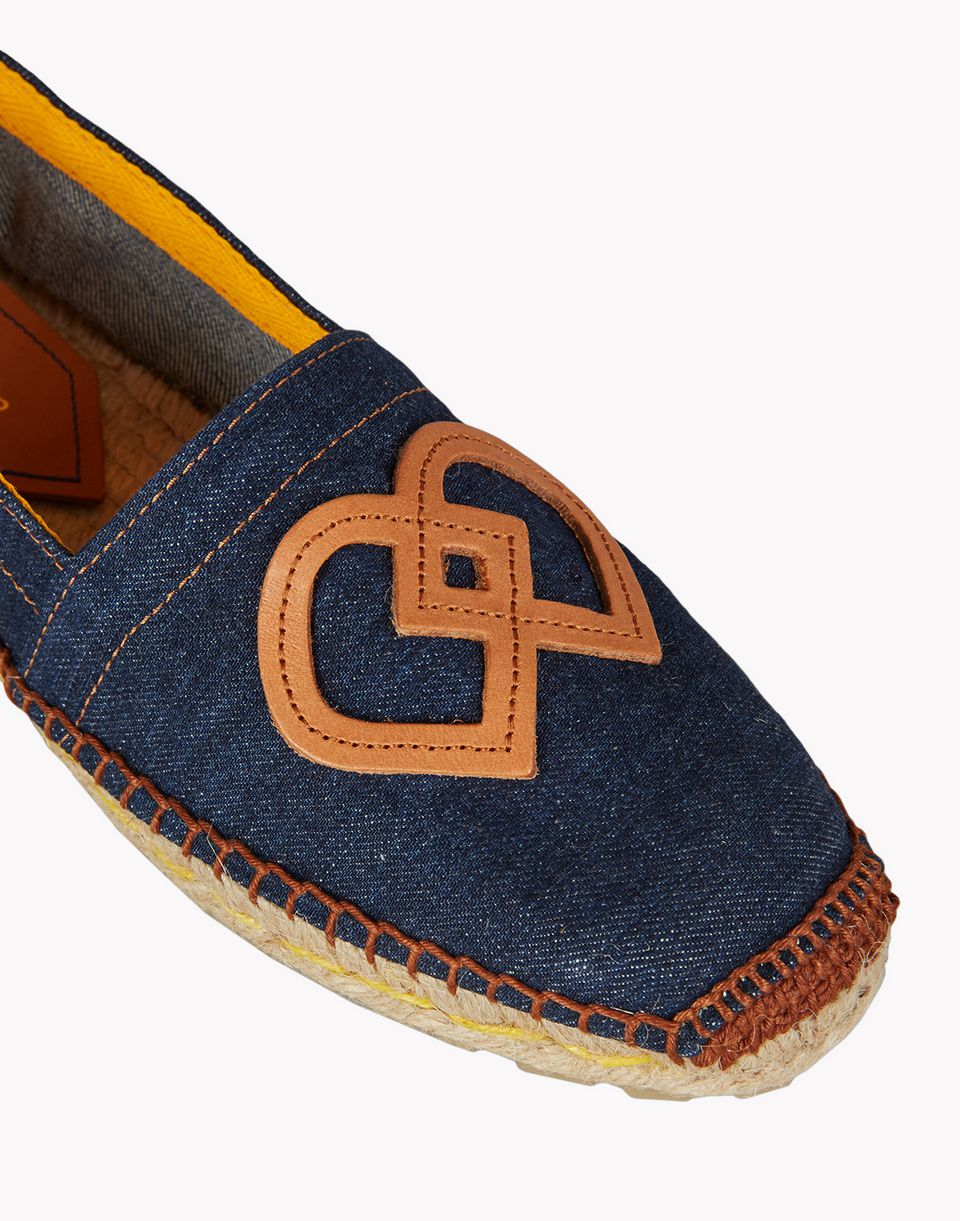 dd denim espadrille shoes Woman Dsquared2