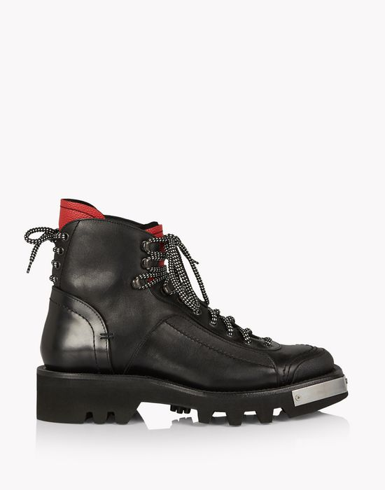 hiking combat boots chaussures Homme Dsquared2