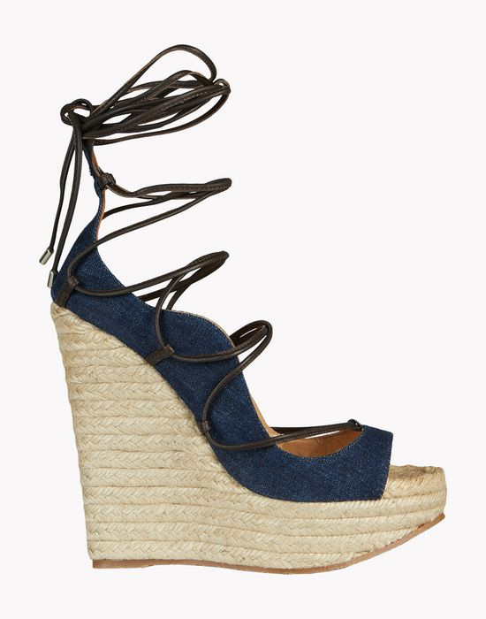 riri wedge sandals shoes Woman Dsquared2