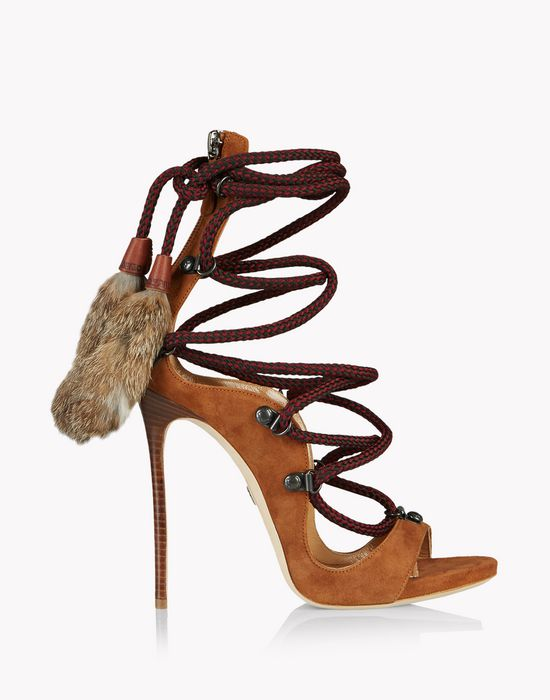 riri mountain sandals shoes Woman Dsquared2