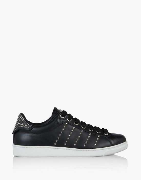 studded santa monica sneakers shoes Man Dsquared2