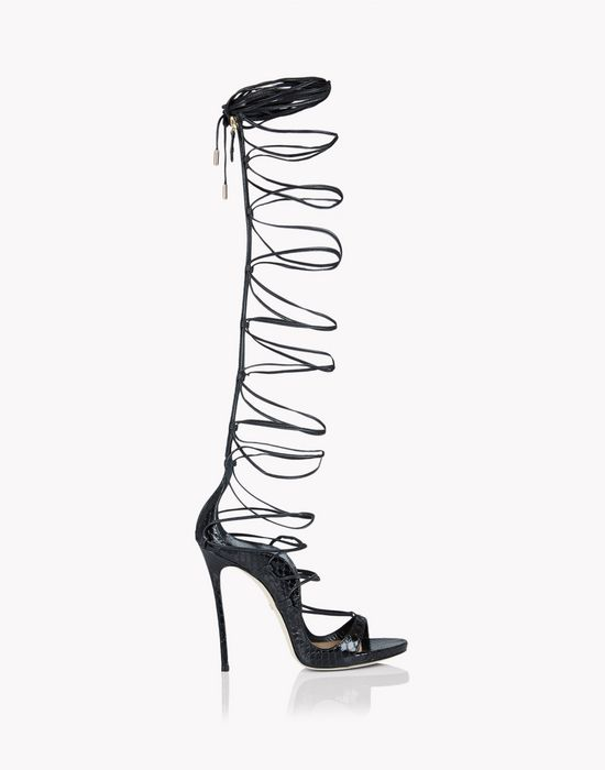 riri over-the-knee sandals shoes Woman Dsquared2
