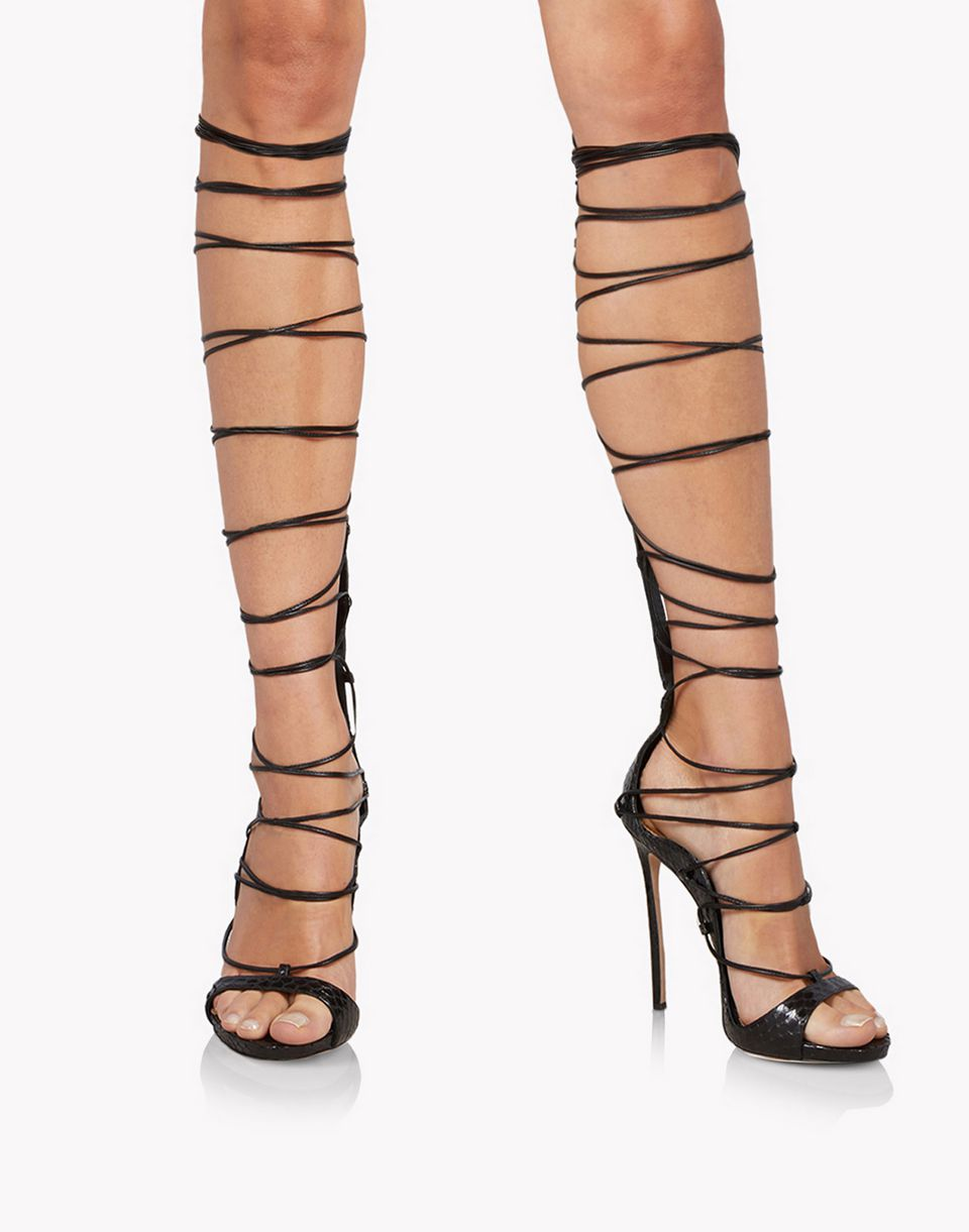 riri over-the-knee sandals schuhe Damen Dsquared2