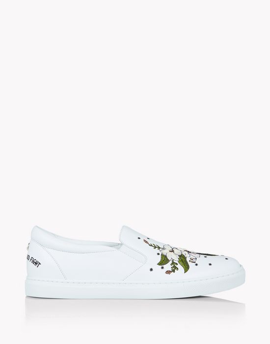 slip on sneakers chaussures Femme Dsquared2