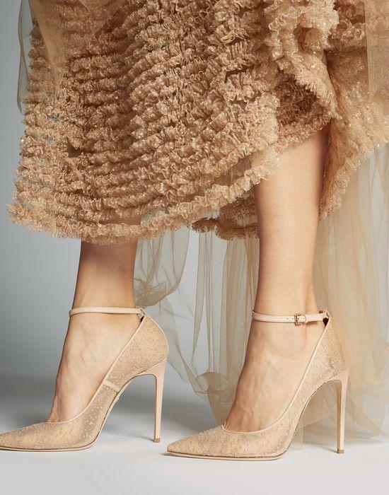 glitter pumps shoes Woman Dsquared2