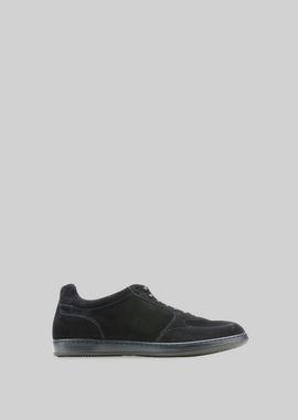 Armani Sneakers Men suede sneakers